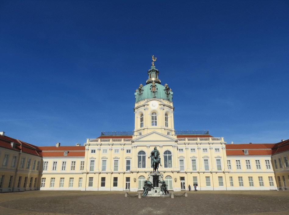 Le palais de Charlottenburg