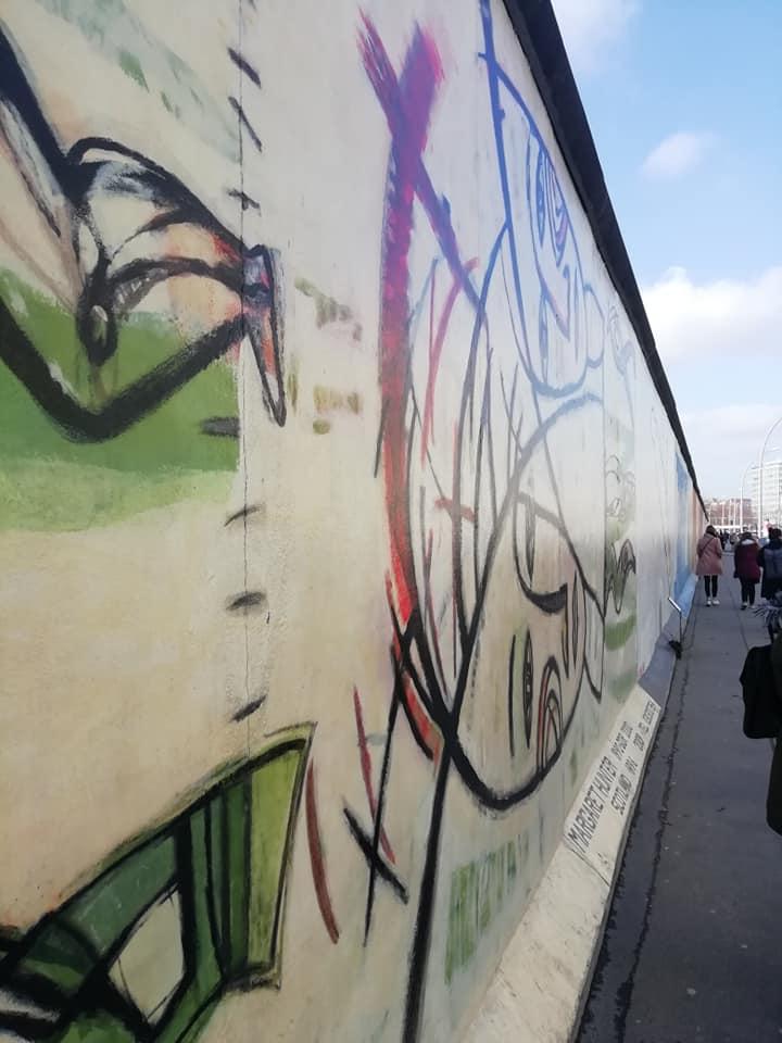 Le mur de Berlin et l'East Side Gallery