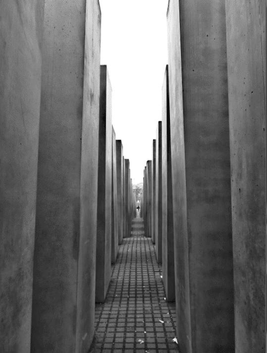 Le mémorial des juifs assassinés d'Europe