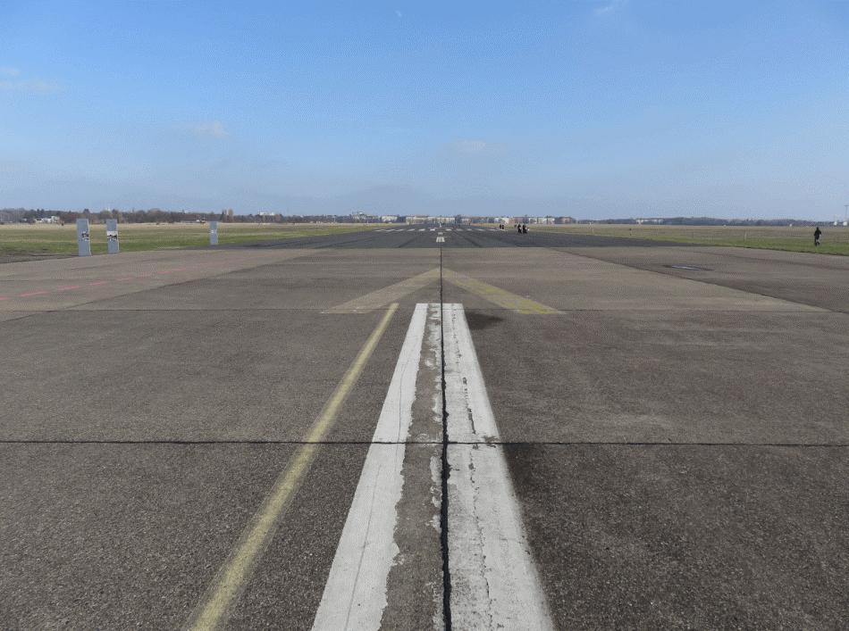 L'aéroport abandonné de Tempelhof.
