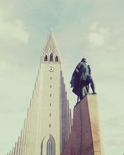 L'église Hallgrímskirkja