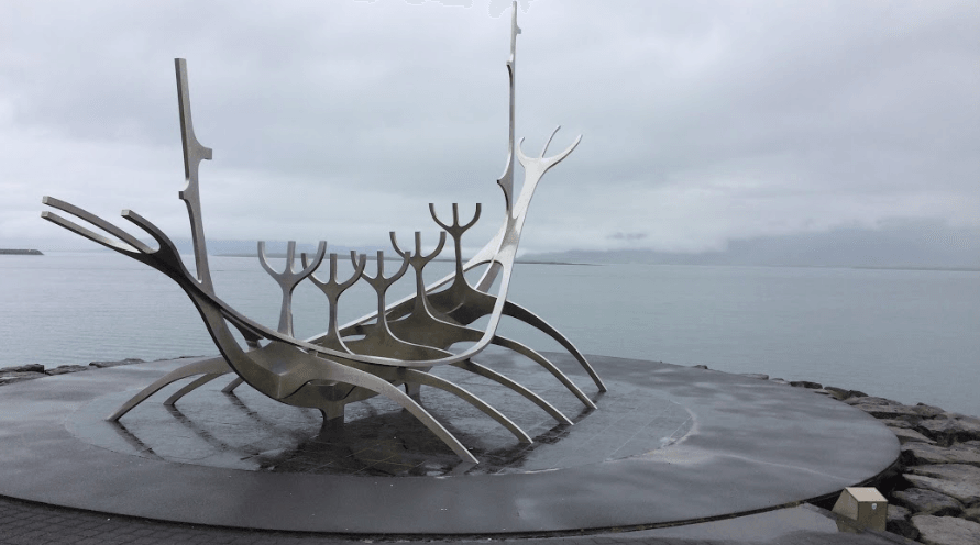 le sun voyager, symbole de l'Islande