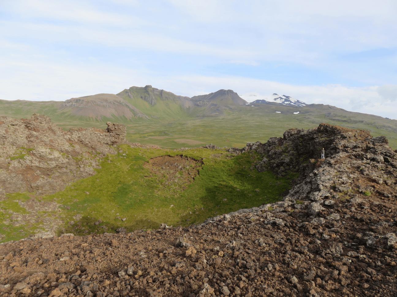 volcan saxholl