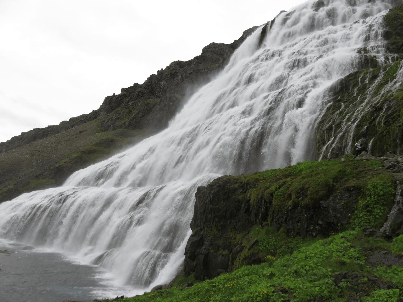 dynjandi cascade