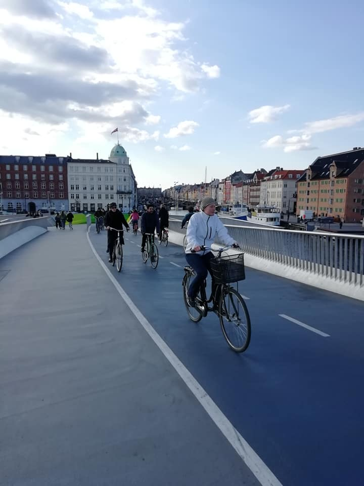 Cyclistes à Copenhague