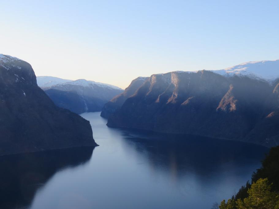 Stegastein View Point Norvège