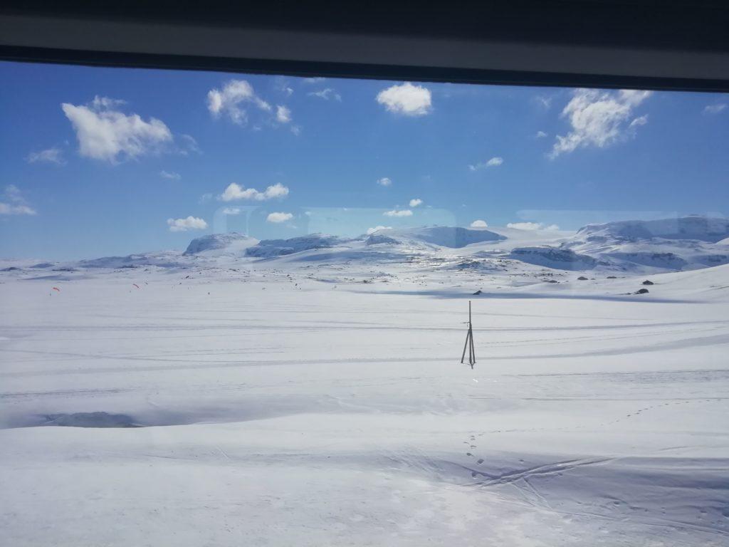 Scène de Star wars hauts plateaux norvégiens